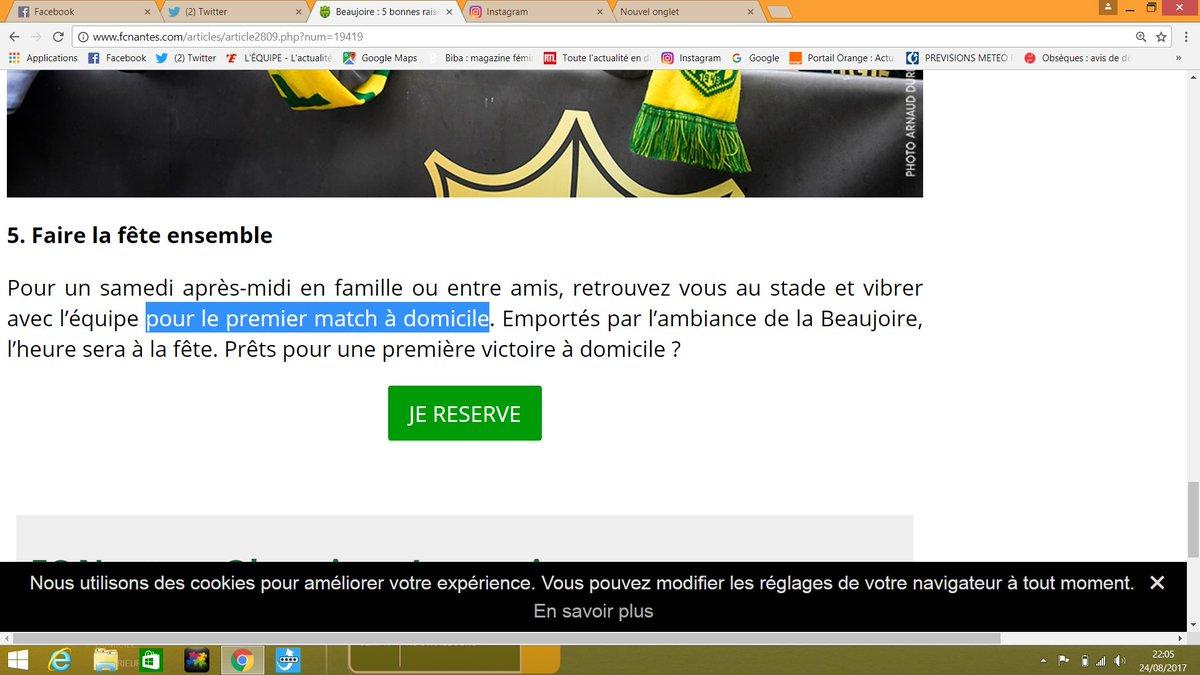 Ah bon ??!!!!  #FCNOM @FCNantes #jyetaismoi #quiquaecritvaallerfaireunesiestepic.twitter.com/IY0rNcfNDk