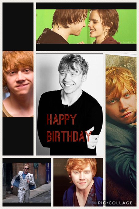 Happy birthday Rupert Grint! Can\t believe your almost 30! I  my Ronald Weasley baby
