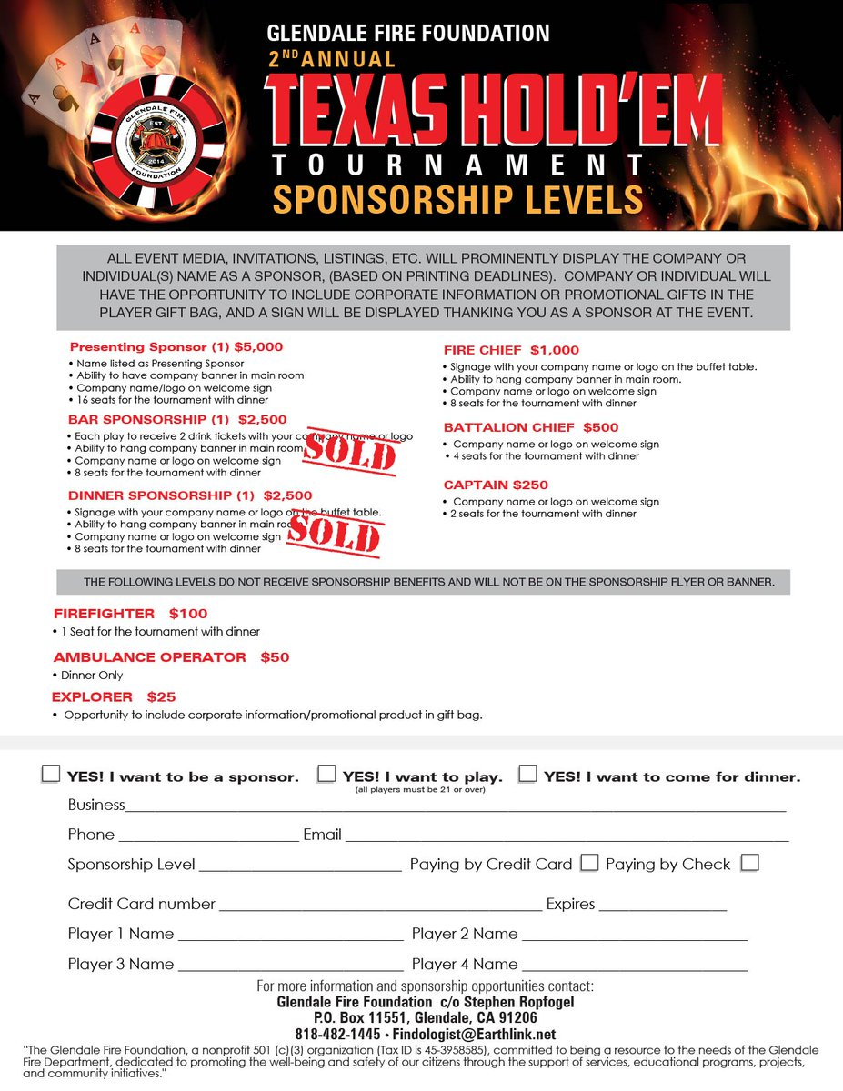 City of glendale ca on twitter the glendale fire foundation is city of glendale ca on twitter the glendale fire foundation is hosting its 2nd annual poker tournament on 826 the mayweather vs reheart Choice Image