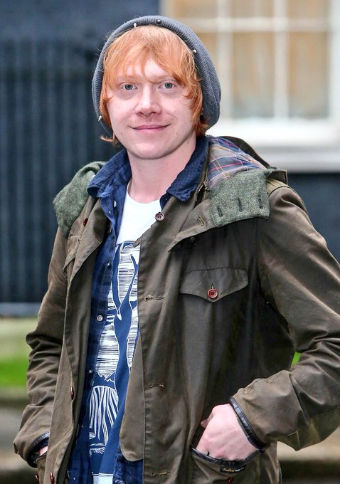 Happy 29th Birthday to one of my favourite actors ever, Rupert Grint!