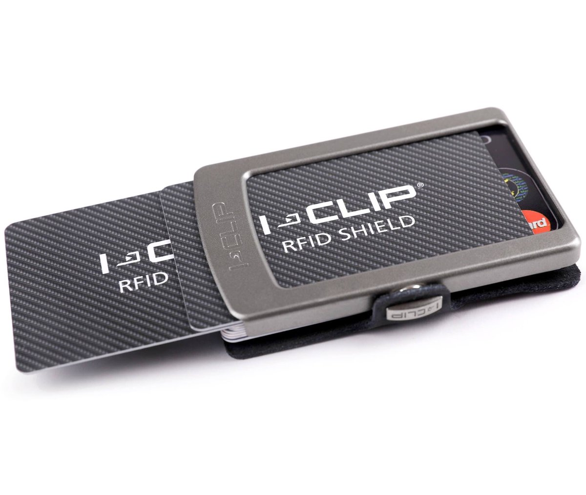 An additional layer of security w/o sacrificing the comforts of your #iclip: clarity, overview, lightness & ease of use.  #rfid #slimwallet https://t.co/9Kl64SEo6f