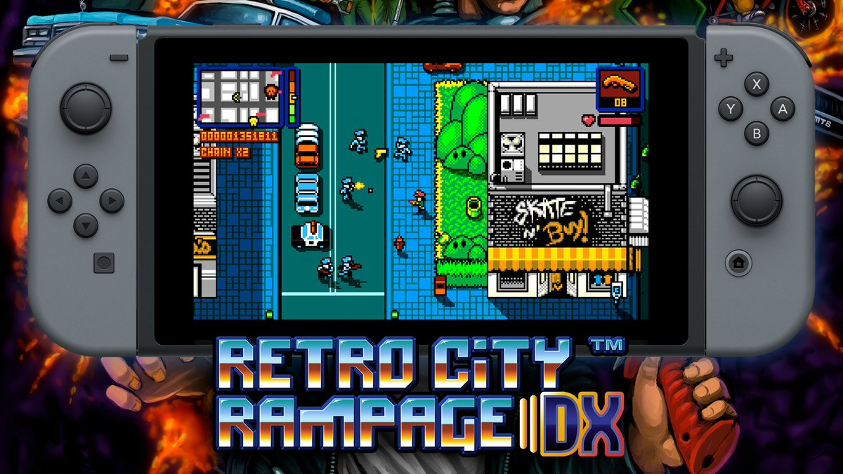 I've got a couple spare codes left! RT & Follow for a chance to win Retro City Rampage DX for Nintendo Switch! https://t.co/4MXZvD0Mkj