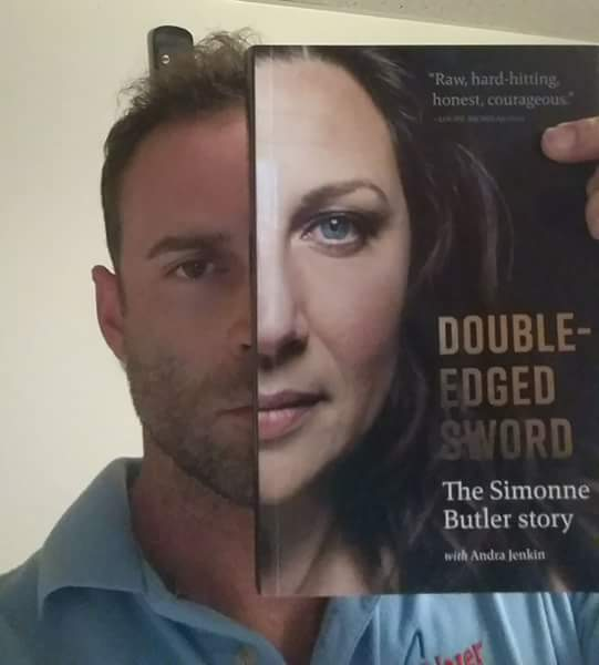 Simonne Butler On Twitter Doubleedgedswordselfie From My