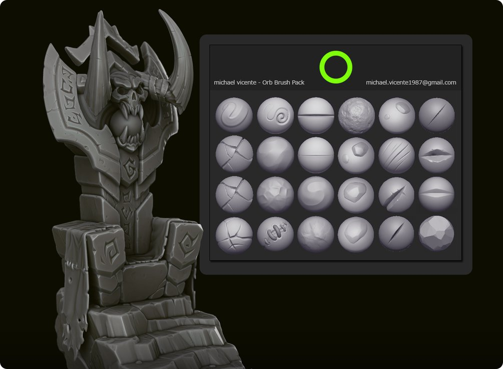 Earlier today: New post: Free Download: ORB's Sculpt Brushes https://t.co/R8ctaFDATH https://t.co/mpomItkh26