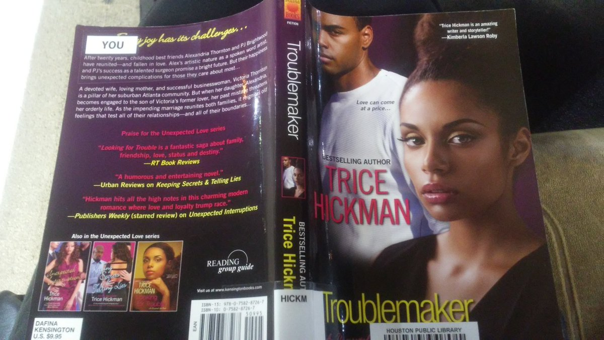 Book I'm reading right now. Quite interesting! Got it yesterday and almost  done already @TriceHickman #Troublemaker  #Goodreadspic.twitter.com/5igX8bhUng