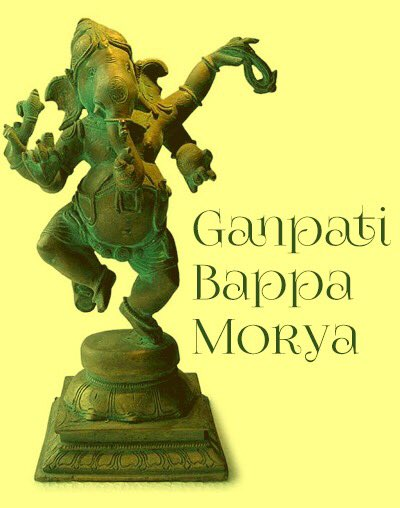 May the Lord of Wisdom remove all obstacles in the path of your Progress. Ganpati Bappa Morya #GaneshChaturthi https://t.co/a81JLA5fAU