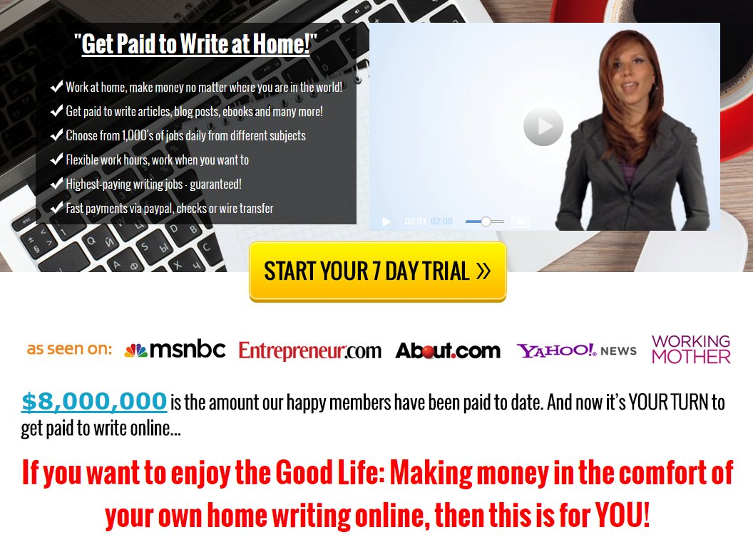 home writing jobs Advanced job search work from home writer jobs filter results by: sort by: relevance - date repeat copy of work from any site, including wikipedia is not allowed experience in similar writing.