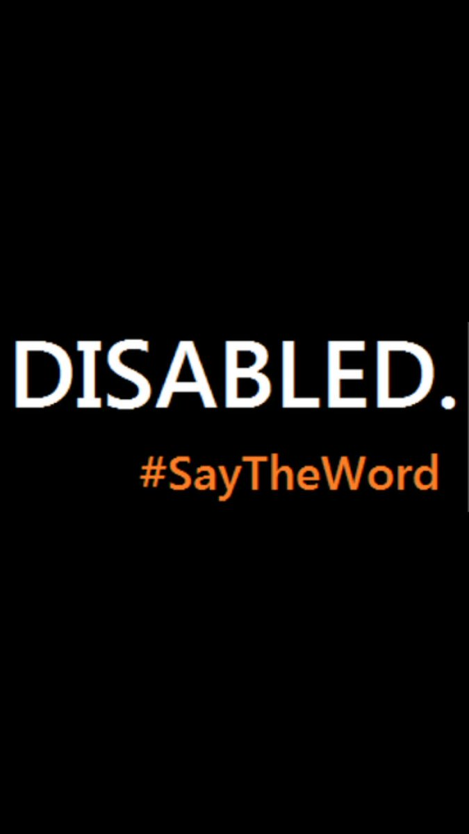 Special Needs Is Ineffective Euphemism >> Gregory Mansfield On Twitter I M Disabled Not Handicapped