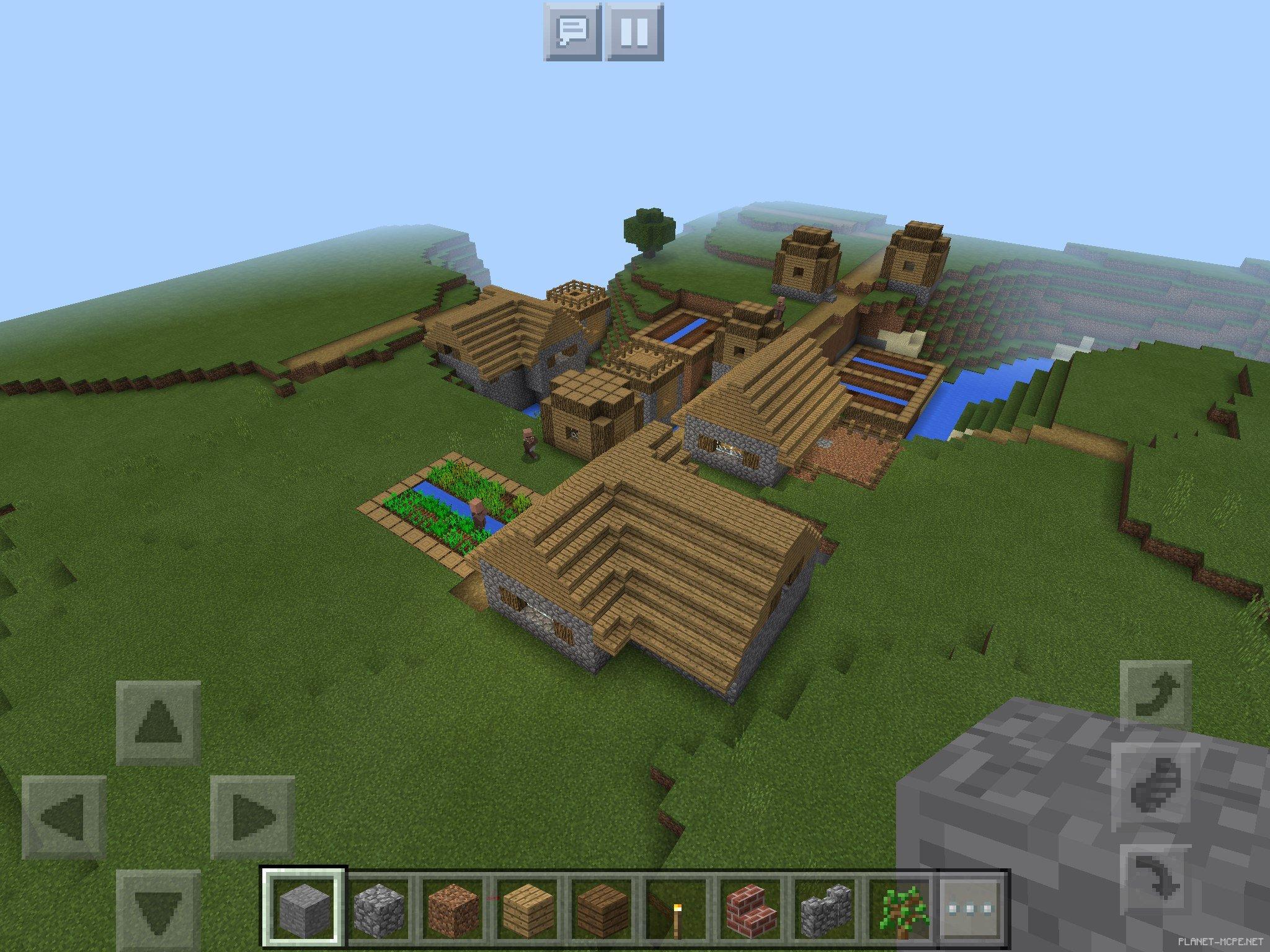 сиды с деревнями на майнкрафт 0.13.0