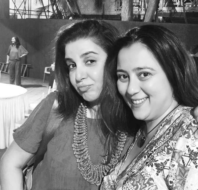 Together since the black&white era😂Happy Birthday @shrishtiarya .. may the yakhni never run out for you!!♥️♥️♥️ https://t.co/cjtcXzd5HH