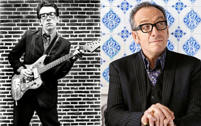 Elvis Costello is 63 years old today. He was born on 25 August 1954 Happy birthday Elvis!