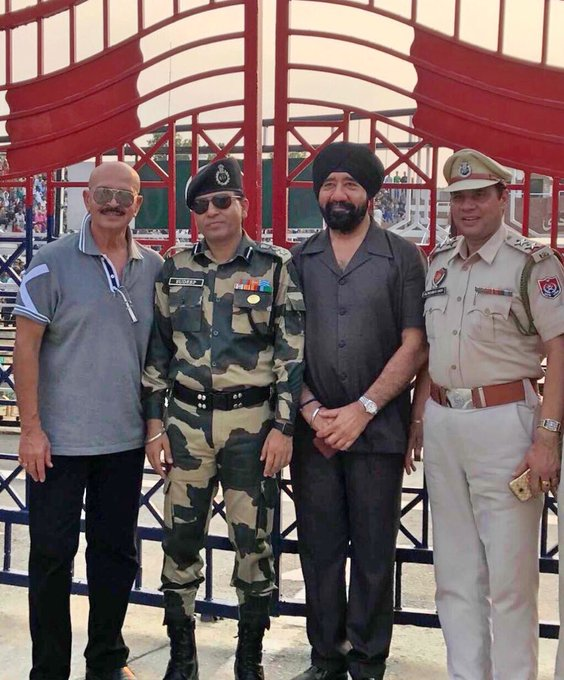 Honoured to meet our protectors at Wagha Border. https://t.co/CFk3R6aIW5
