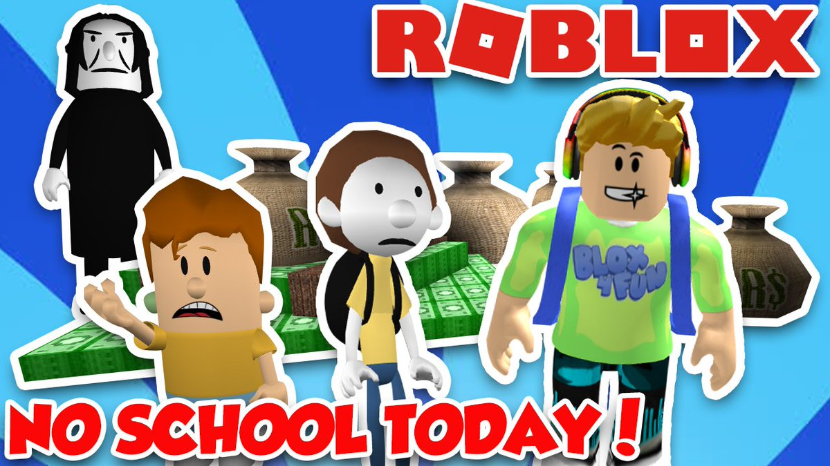 Blox4fun On Twitter Escape School To Get Free Robux Brand