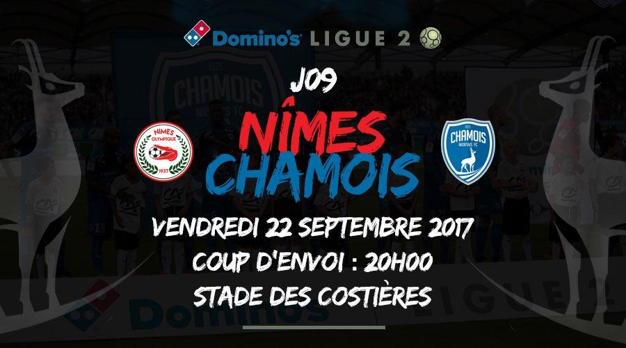 CHAMPIONNAT DE DOMINO'S LIGUE 2 - J 9 : NO / FC CHAMOIS NIORTAIS  DIE82WyXkAAEYhN