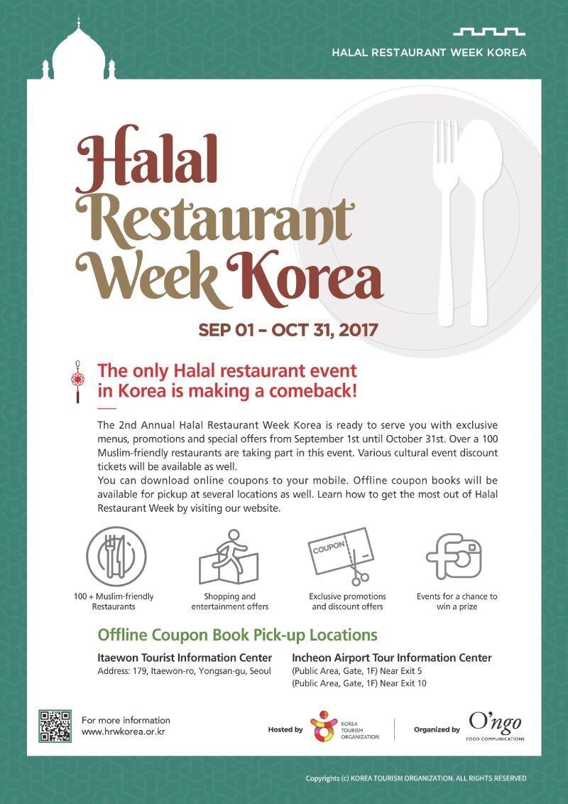 Makanan Korea Halal Restaurant Week Korea(saungkorea.com)