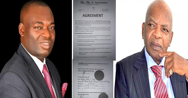 Tony Nwoye responded to Elombah.com following publication of agreement between himself & Arthur Eze: I am not surprised to see a very fake document