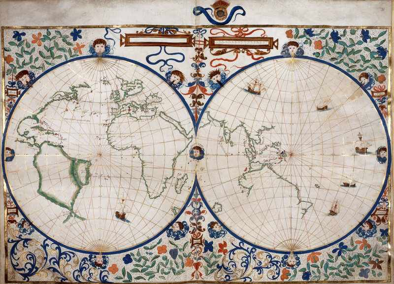 Map library on twitter here is the world map from the rotz atlas 227 am 25 aug 2017 gumiabroncs Gallery