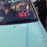 空車、満車だけじゃない?!タクシーが「SOS」を出していたら警察に電話してあげて!