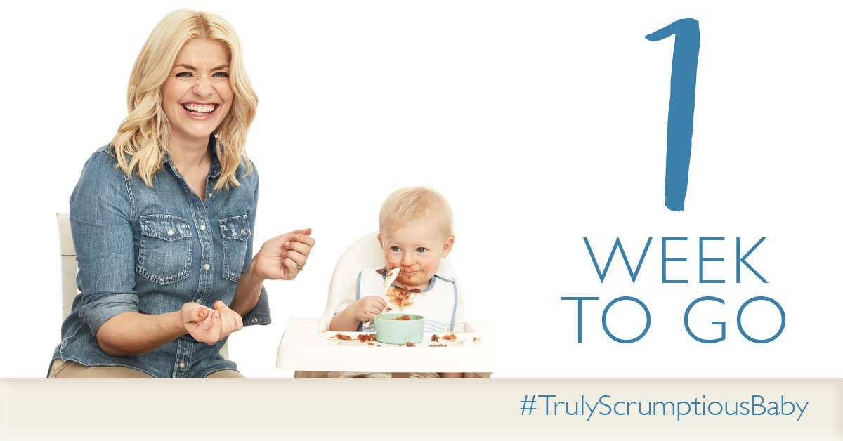 Feeling excited because… there's only 7 days until #TrulyScrumptiousBaby! https://t.co/IYW335z2W1 https://t.co/uKn1TT64vg