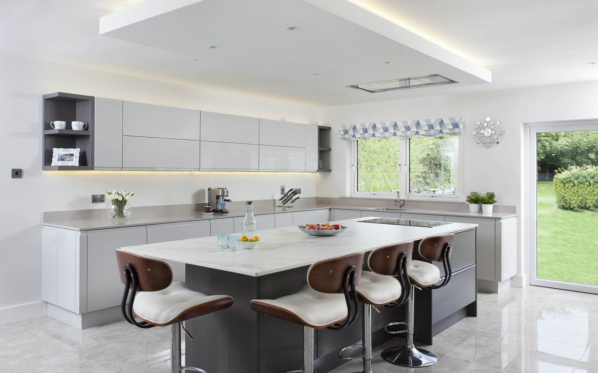 Check Out Our Latest Bespoke Contemporary Kitchen. Great Example Of A  Renovation Project Transforming A Home!pic.twitter.com/011cf9j6Z6