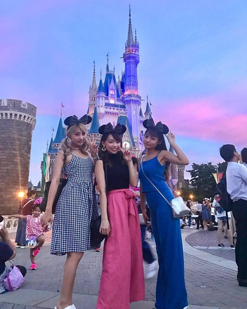 """青野美沙稀 on twitter: """"来ちゃいました〜🐭🏰 . 夏5で遊びに"""