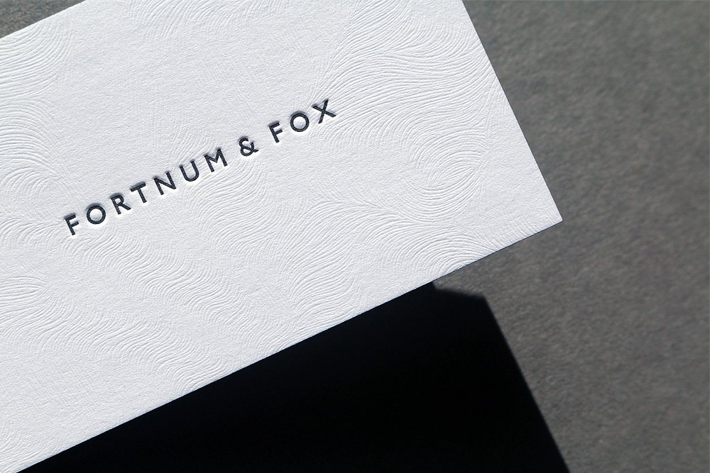 G f smith on twitter tactile letterpress business cards for g f smith on twitter tactile letterpress business cards for fortnum fox on colorplan with a coltskin emboss finished with black edge colour colourmoves