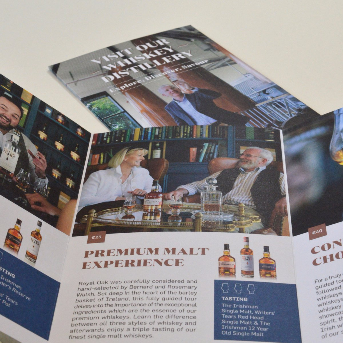 Check out our promotional flyer for @WalshWhiskey that highlights the unique aspects of the Distillery tourpic.twitter.com/4StLq8isgs