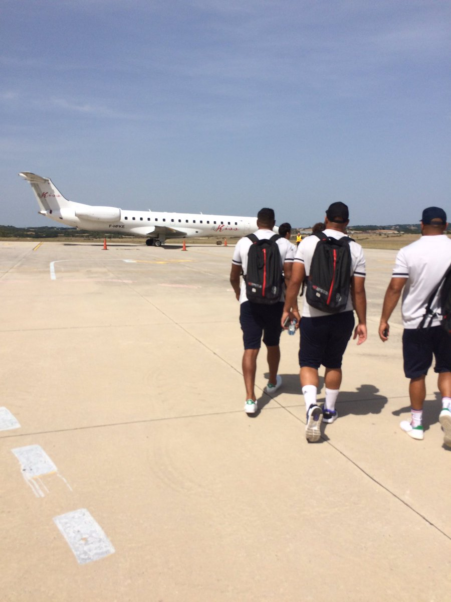 C'est reparti ! Direction Paris #TOP14 @...
