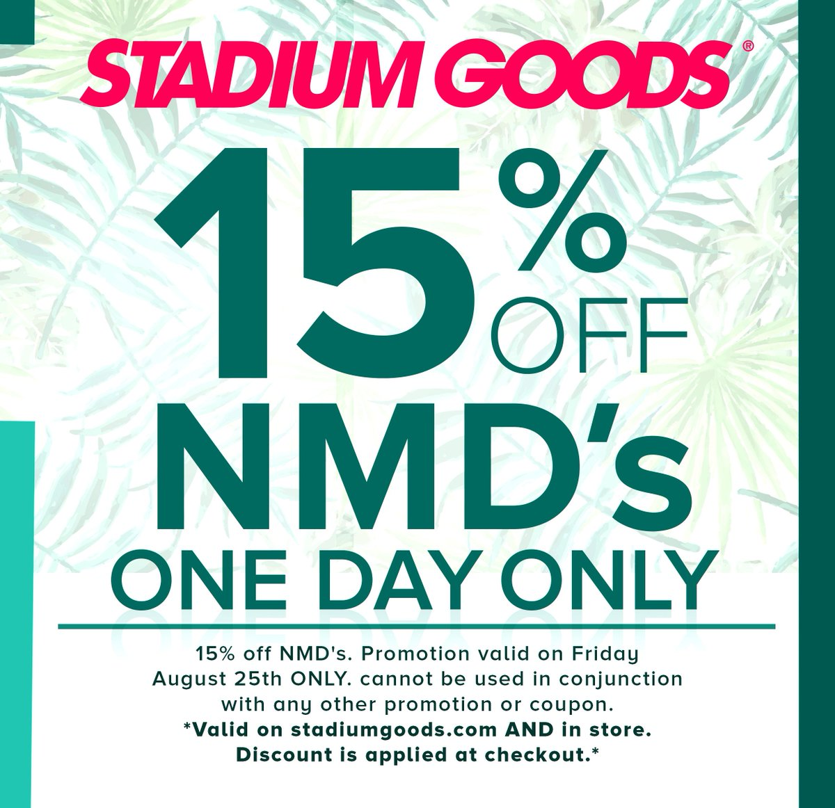 Active Stadium Goods Promo Codes & Deals for June 12222
