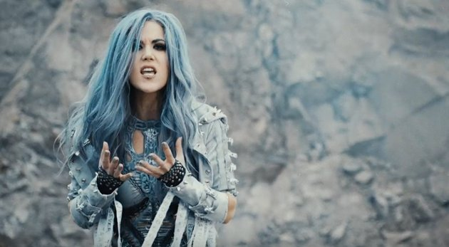 "Alissa White Gluz On Twitter Congratulations To: El Cuartel Del Metal On Twitter: ""Arch Enemy Estrena Nuevo"