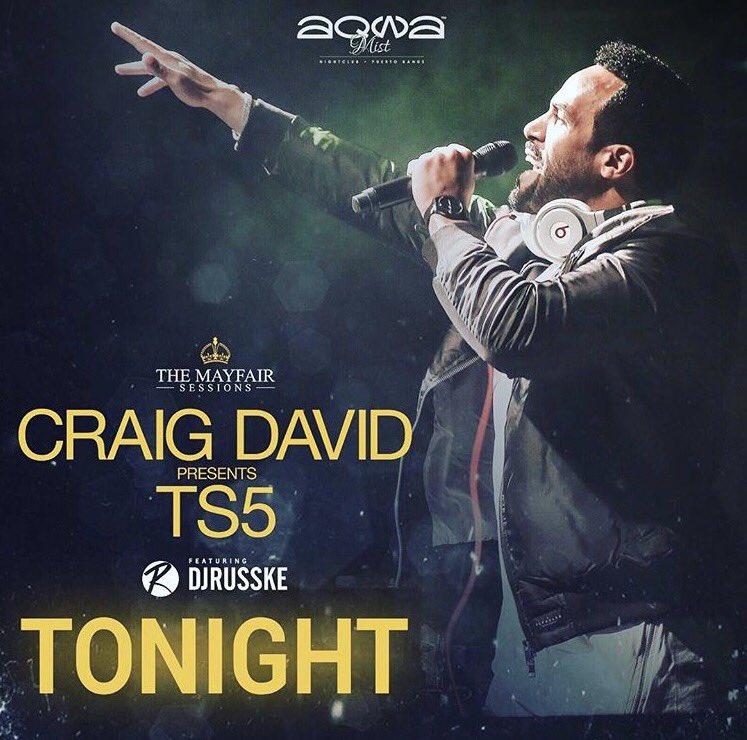 RT @DJRUSSKE: Tonight with the big man @CraigDavid https://t.co/A5edfpHLz3