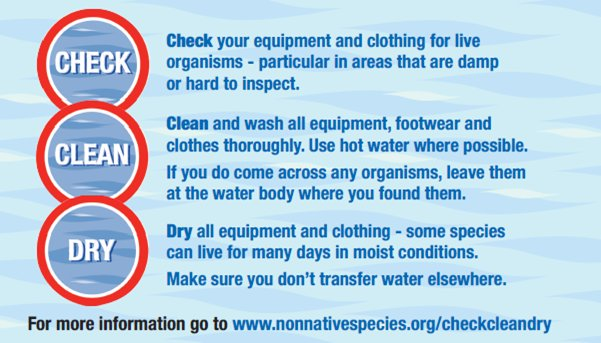 Making the most of the #BankHolidayWeekend on the water? Don&#39;t forget to #CheckCleanDry  http://www. nonnativespecies.org/checkcleandry  &nbsp;  <br>http://pic.twitter.com/YinfNSz1iA