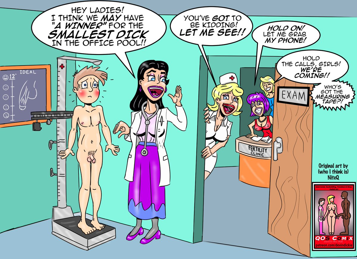 Sorry, that femdom comic castration pity, that