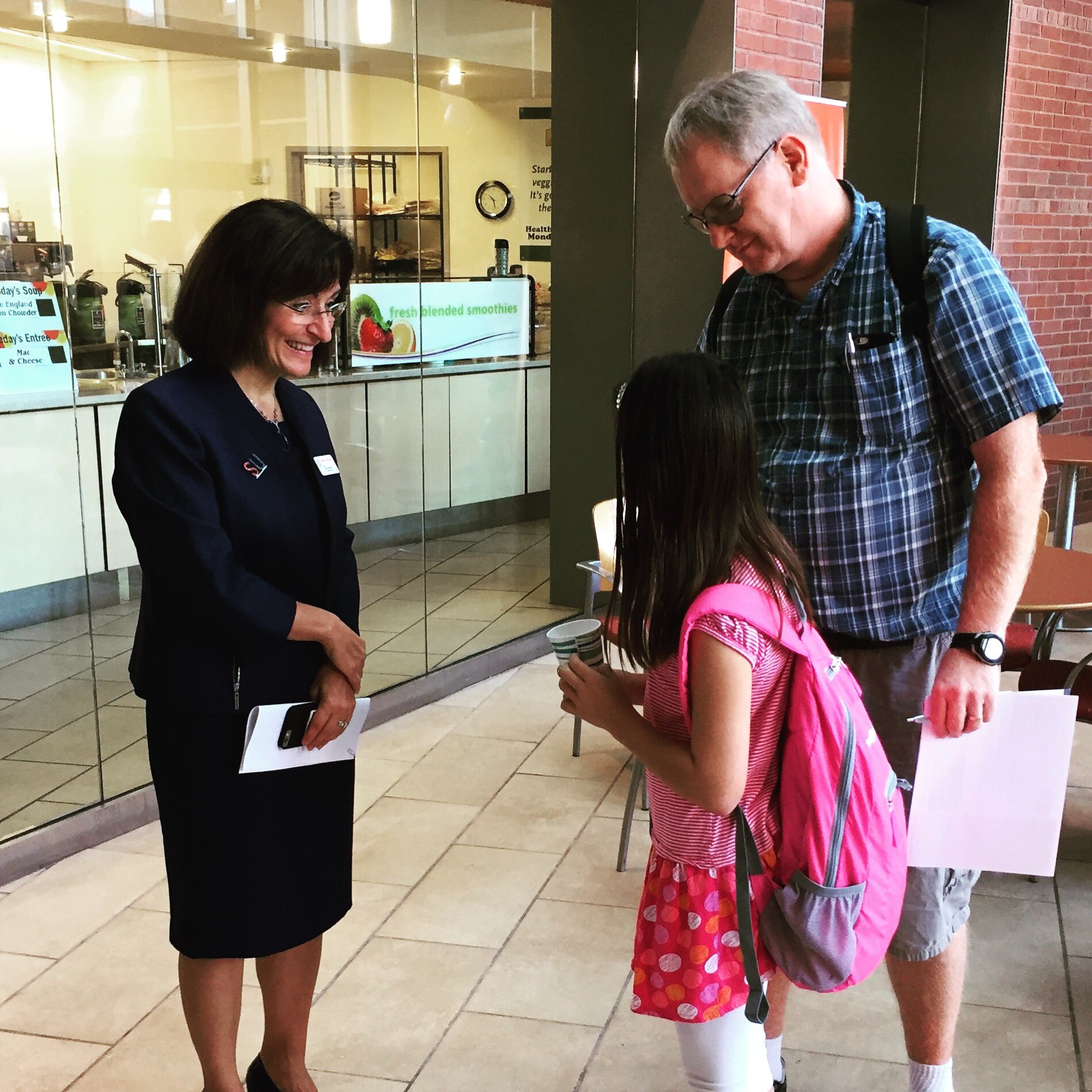 Dean Dahlberg welcomes families (and future students) at #SUWelcome https://t.co/cJQdNyOfNi