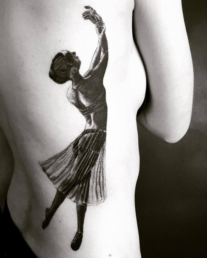 картинки тату балерин поделиться вами