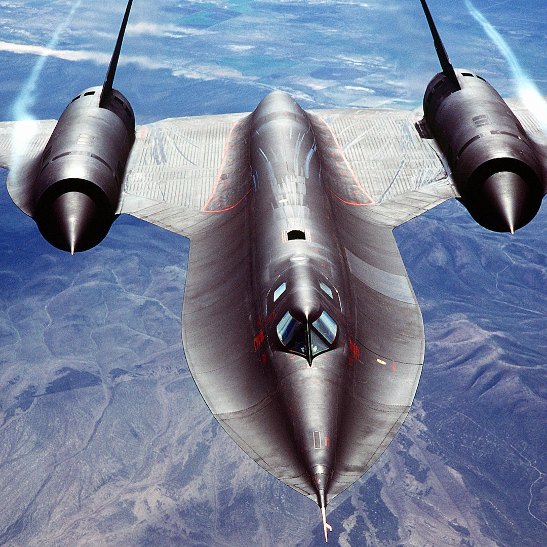 NASA released rare footage of the SR-71 — the fastest plane to ever ex...