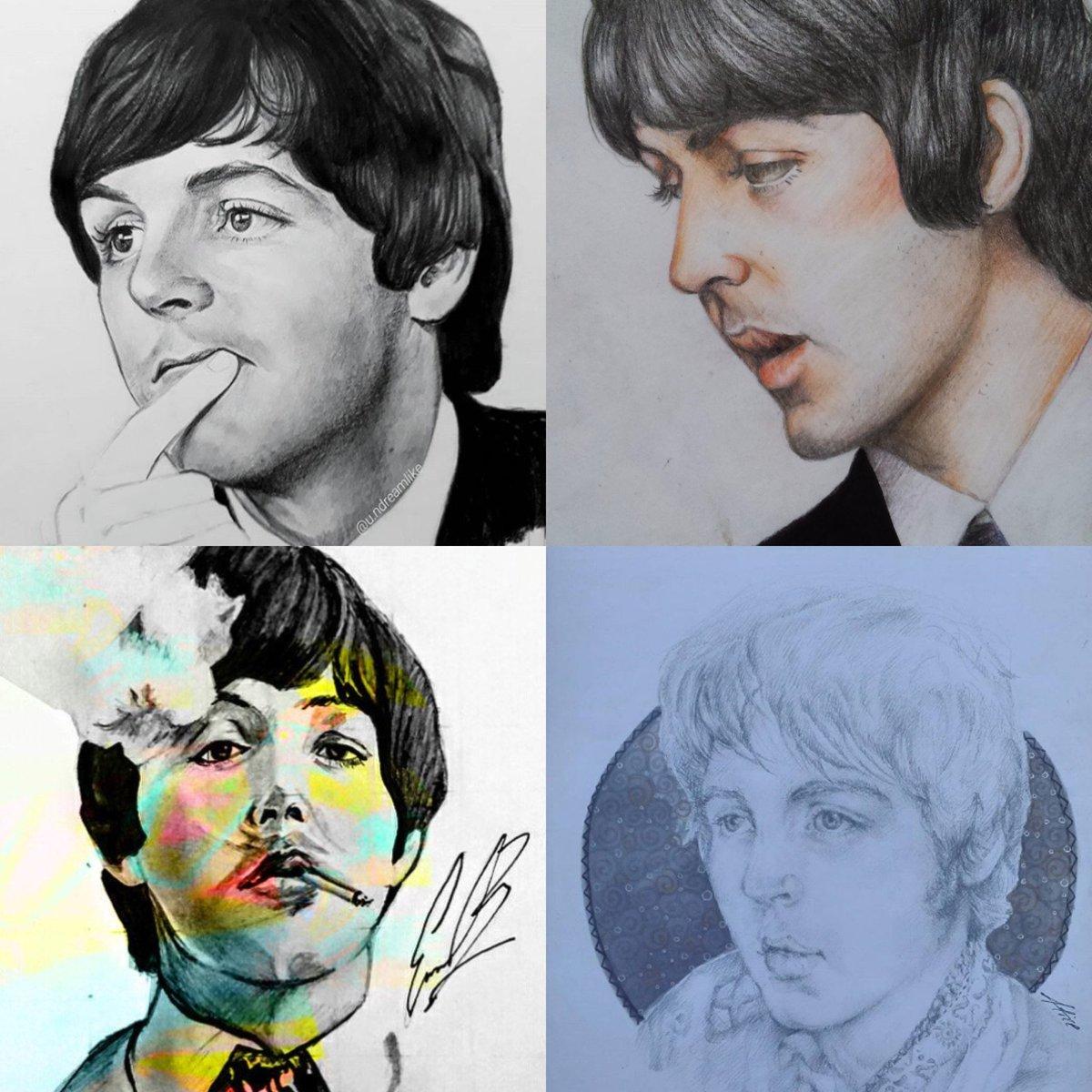 Paul McCartney On Twitter FanArtFriday By User Izlata94 And Instagram Users Alice 99 Eab Arte Undreamlike Share Your Fanart Using