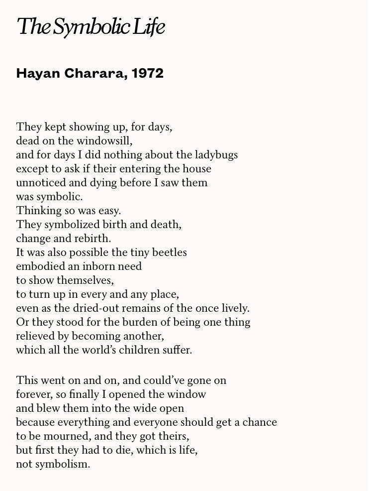 Licks Books On Twitter The Symbolic Life By Hayan Charara