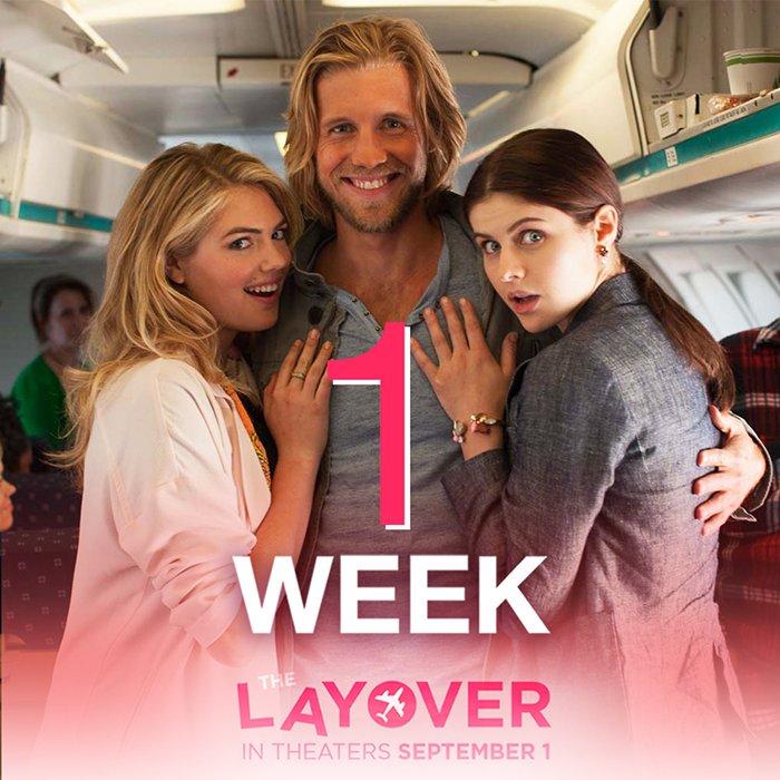 ფრენის გადადება / The Layover