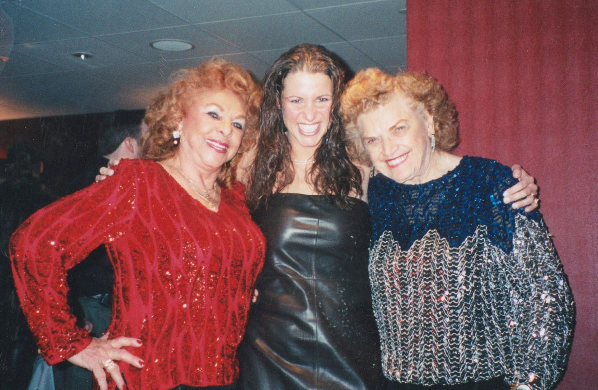 """Stephanie McMahon on Twitter: """"#FBF The Great Mae Young & The Fabulous  Moolah - In honor of @MaeYoungClassic starting THIS Monday after #RAW  @WWENetwork! #WomensEvolution… https://t.co/fPt9SLX0Eu"""""""