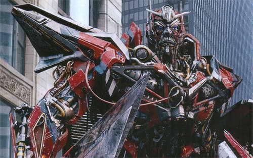 Transformers 3 deluxe nitro