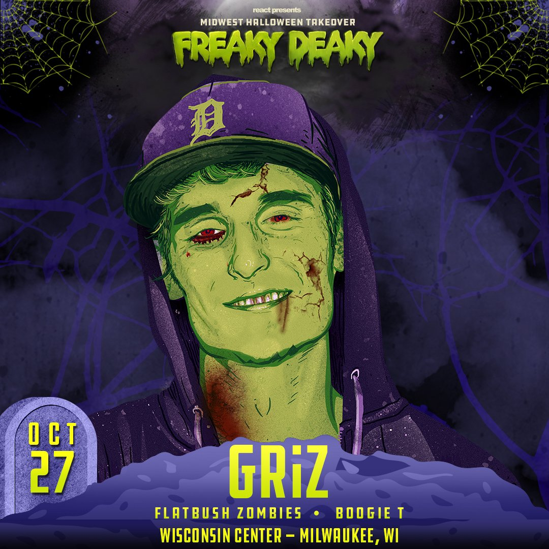 griz on twitter midwest fam lets get spooky ooky and freaky deaky