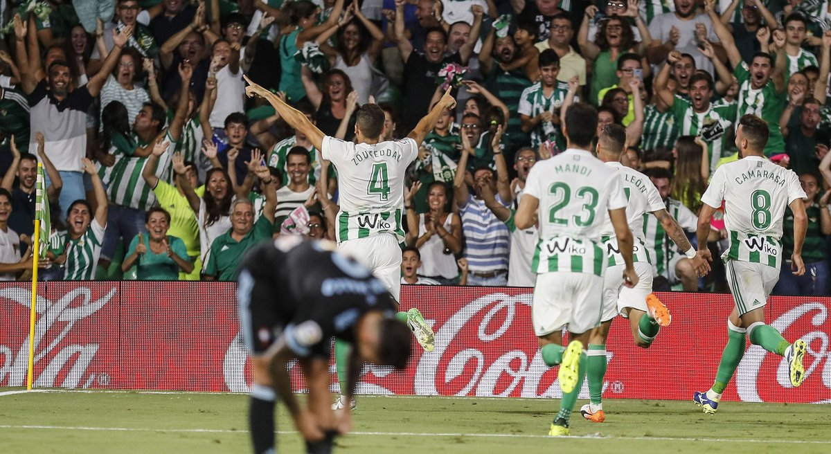 Video: Real Betis vs Celta de Vigo