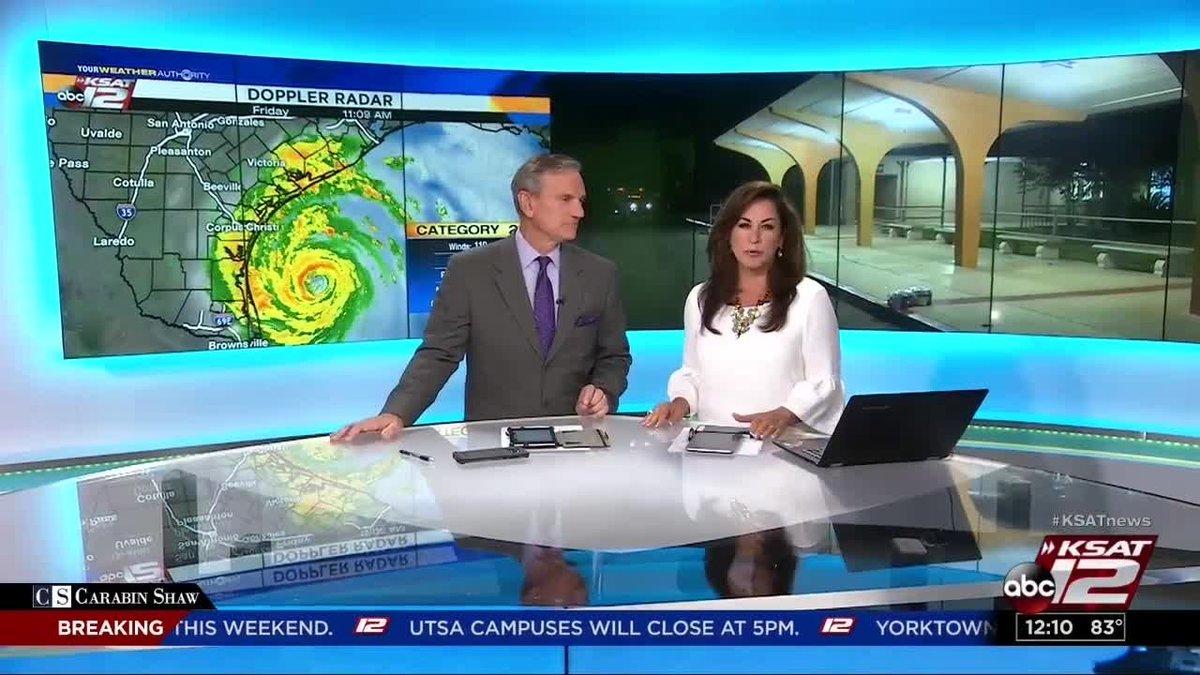 Video: armbands keep hurricane harvey evacuees in san