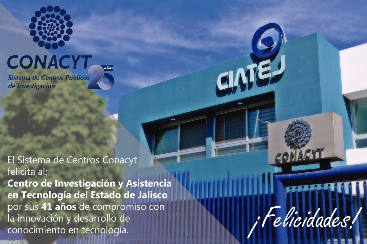 Conacyt: Centros Conacyt (@CentrosConacyt)