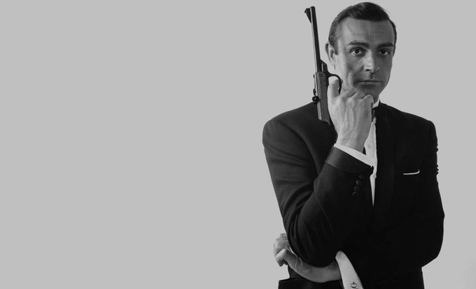 Happy 87 Birthday to the academy Oscar winner Sean Connery     James Bond 007