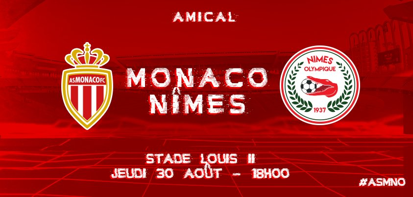 MATCH AMICAL : AS MONACO / NÎMES OLYMPIQUE  DIGLxAfWAAAfmVx