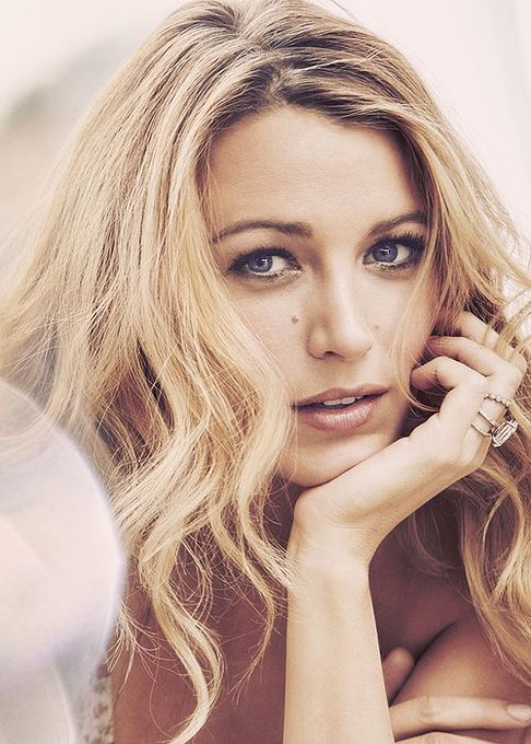 Happy birthday icon, funny, smart and incredibly beautiful Blake lively