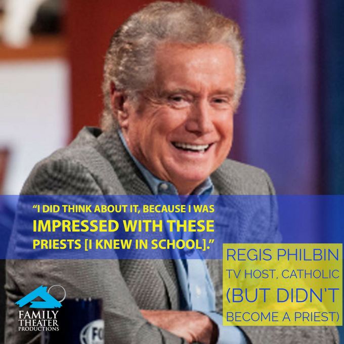 Happy Aug. 25 Birthday to Regis Philbin, a proud graduate!