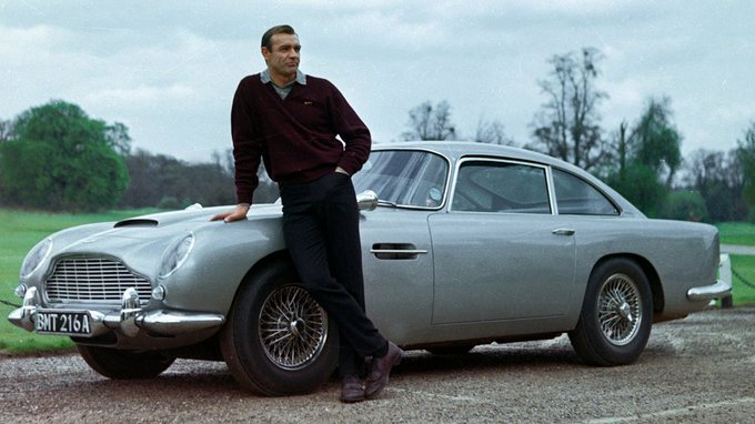 Wishing a very happy birthday to the best Bond ever - Sean Connery
